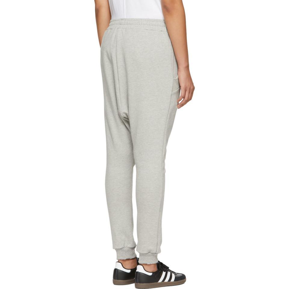 a1ba8ce60896a ... Gray Grey Harem Lounge Pants - Lyst. View fullscreen