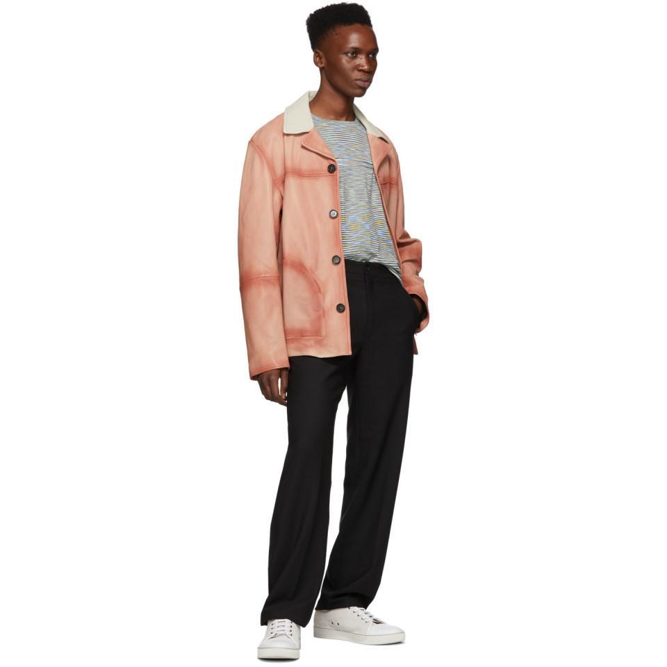 bec1f914 Joseph Black Wool Comfort Edgar Trousers for men
