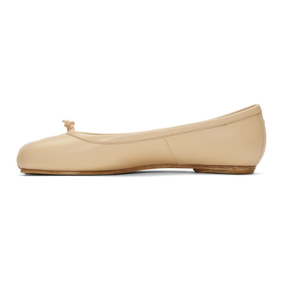 Maison Margiela Tan Tabi Ballerina Flats ANMTANWH