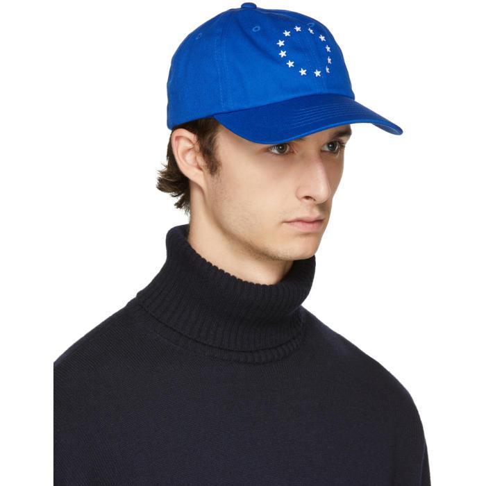 Still Europa denim cap - Blue ZQBGnV