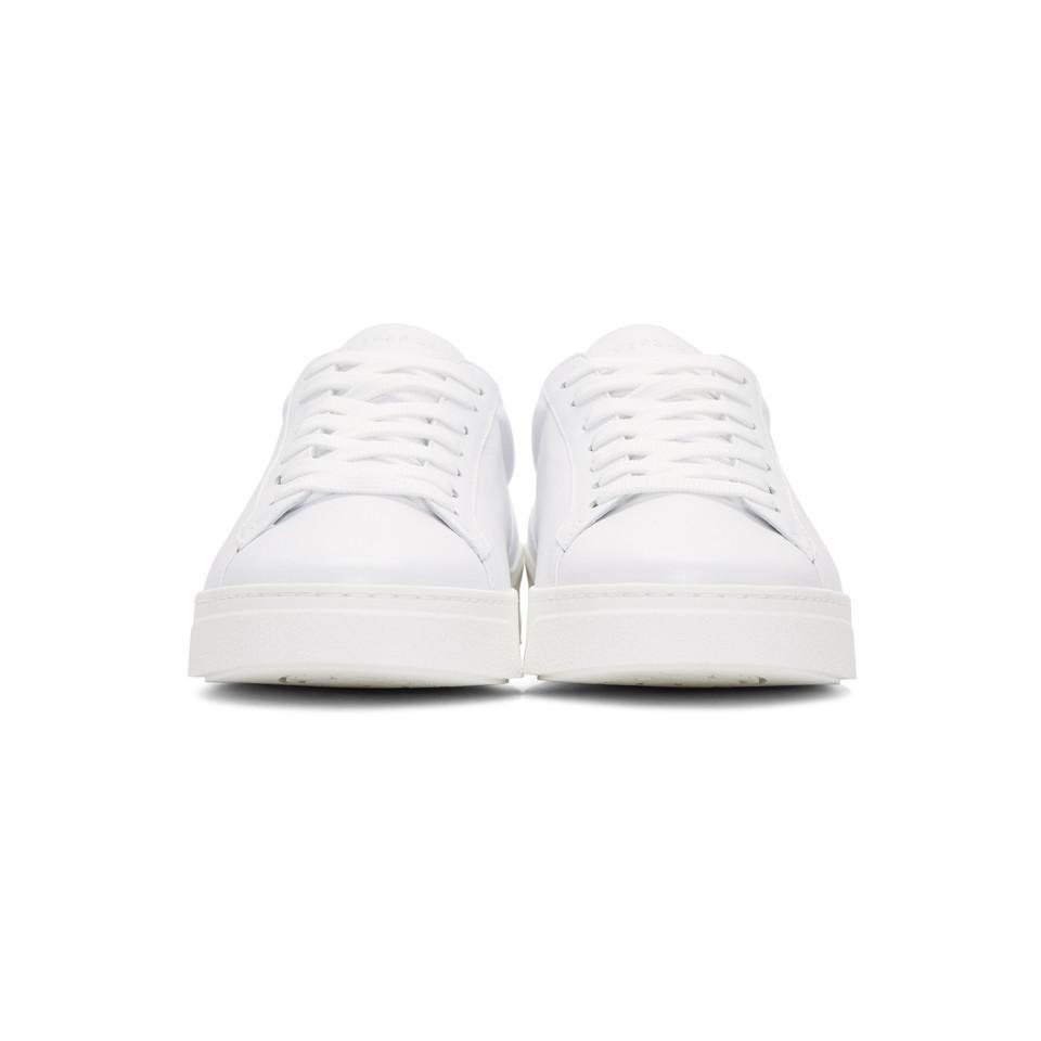 Versace White Back Medusa Head Sneakers tFDD9Vy2