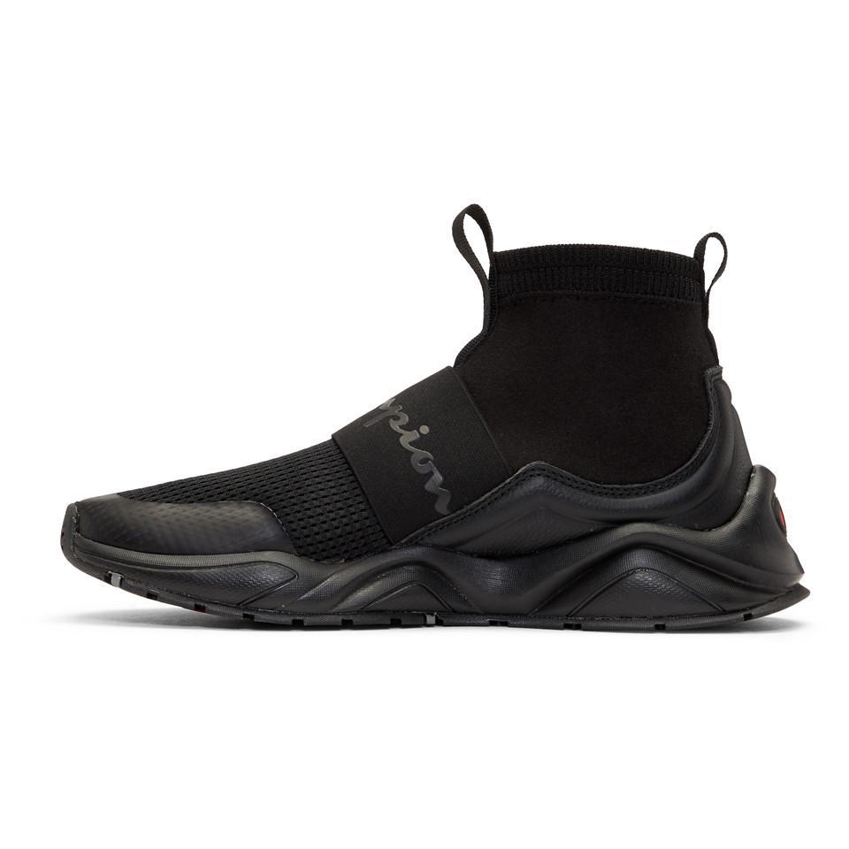 Black Rally High,top Sneakers
