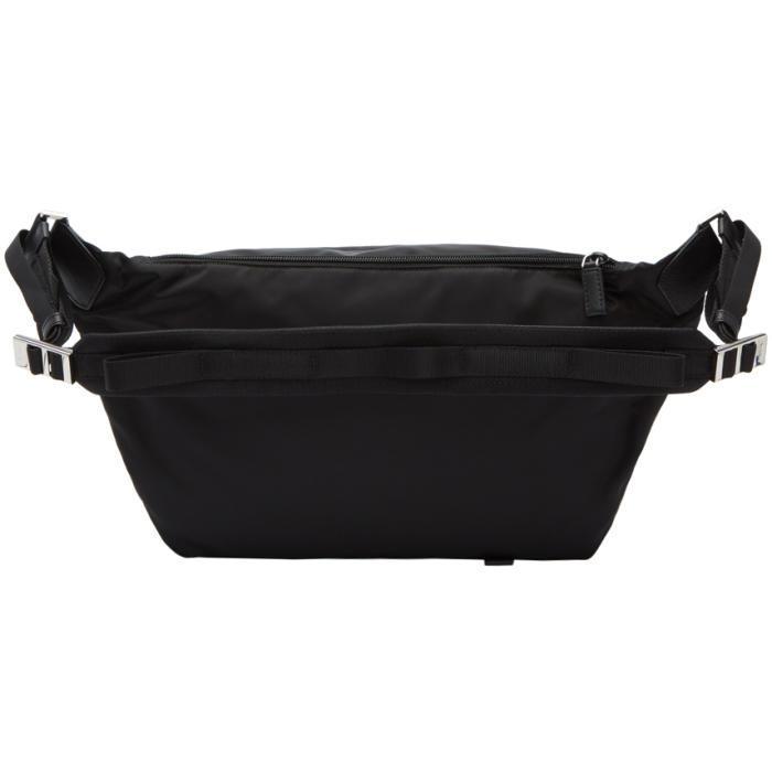 Prada Synthetic Black Cross-body Messenger Bag for Men
