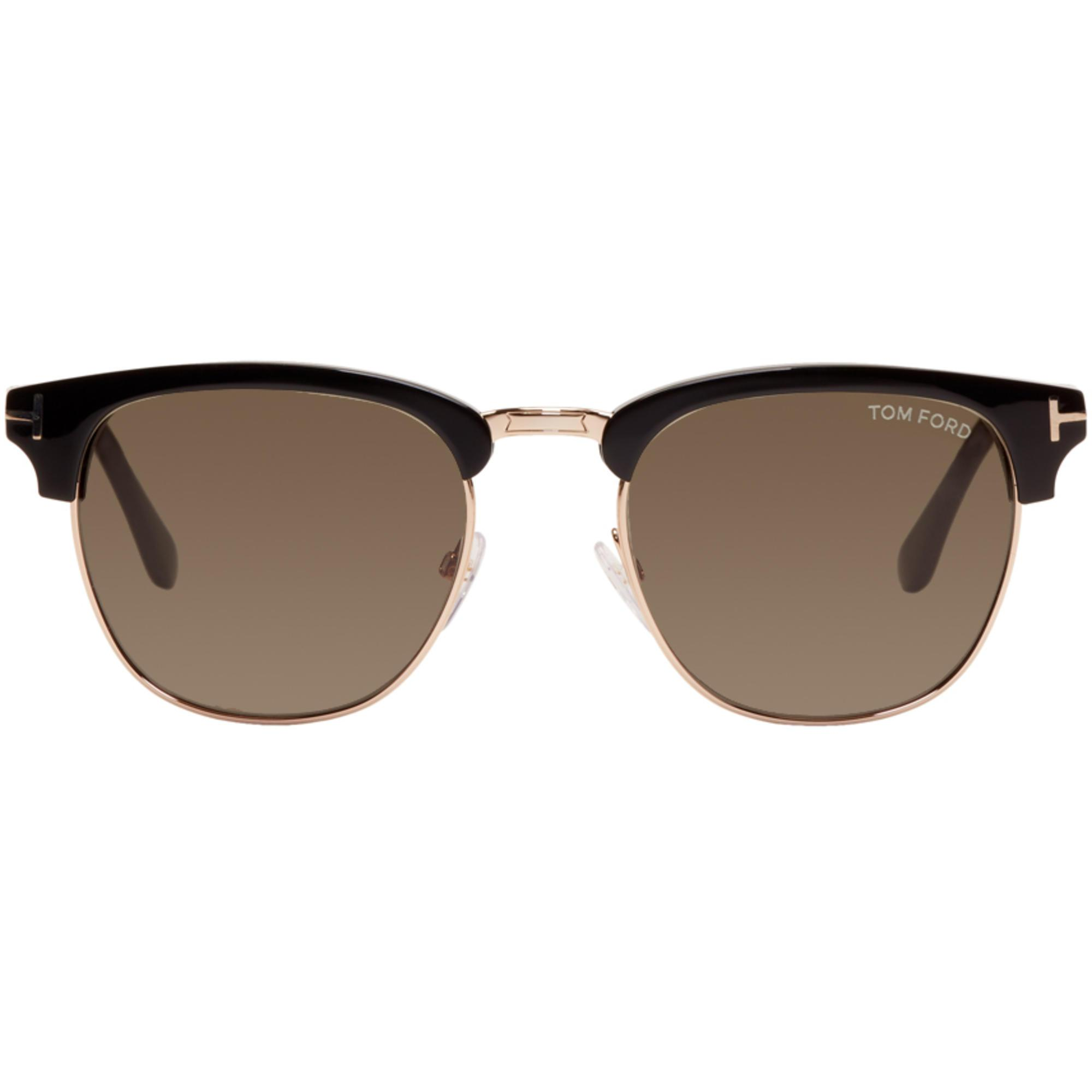 a292780f342 Gallery. Previously sold at  SSENSE · Women s Tom Ford Henry Women s Cat  Eye Sunglasses ...