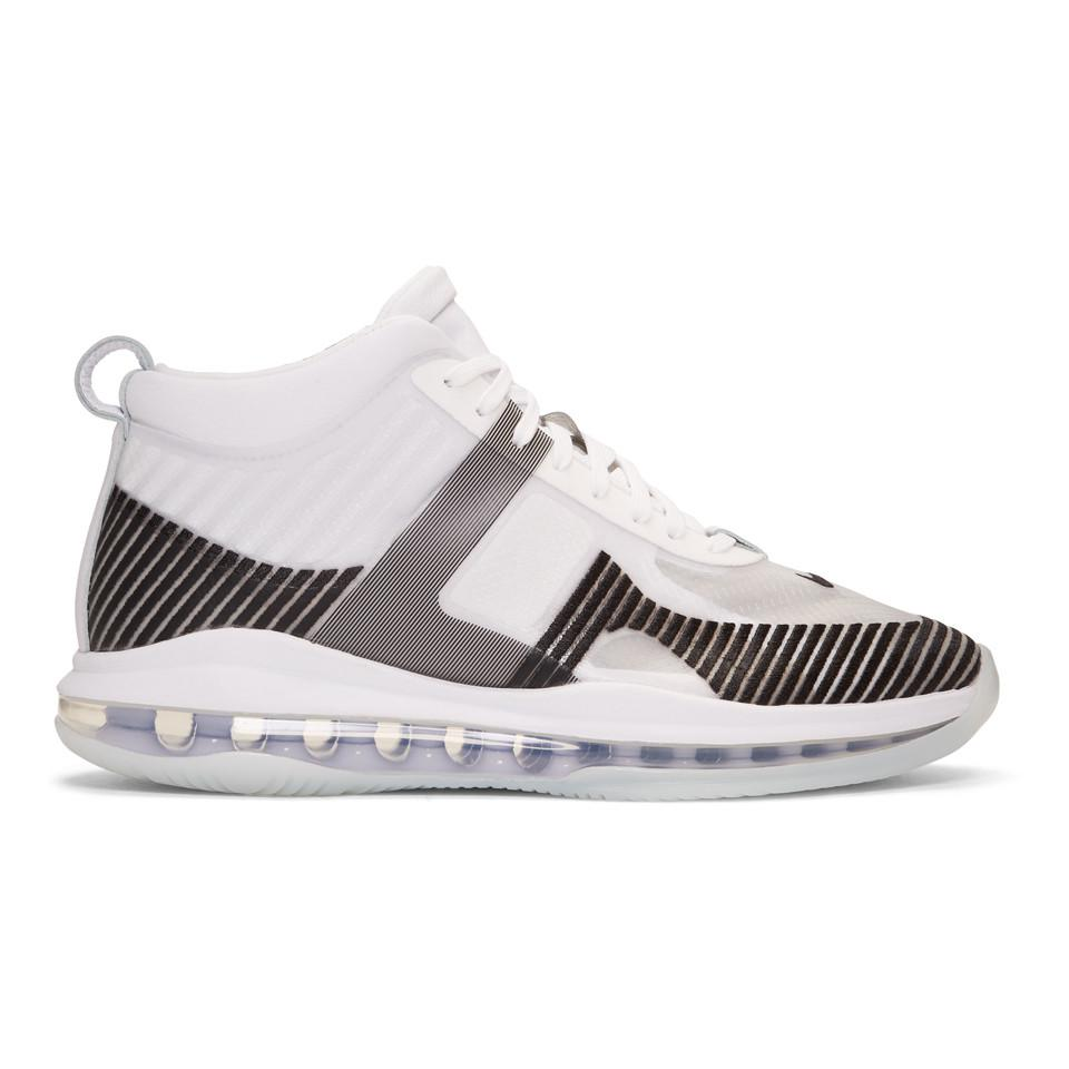 63acaae7840 Nike White Lebron James X John Elliott Icon Qs Sneakers in White for ...