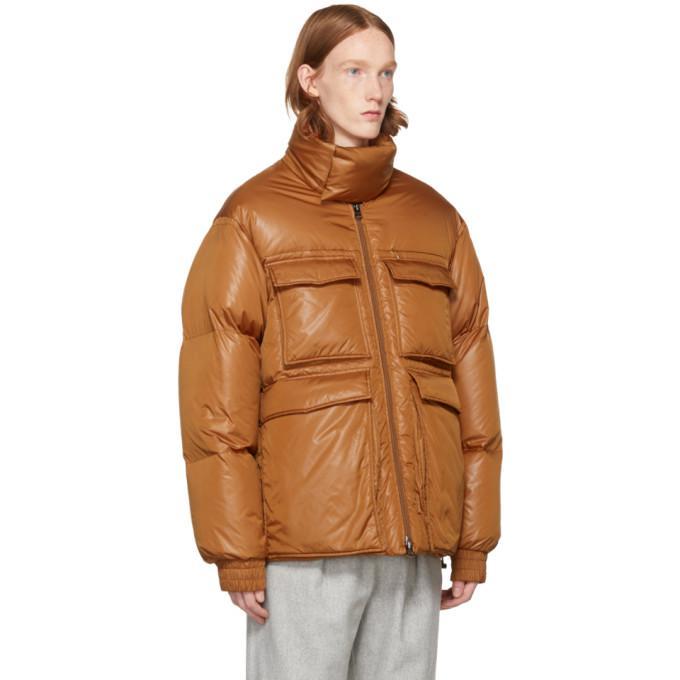 Acne Studios Synthetic Orange Down Minus Gloss Jacket for Men