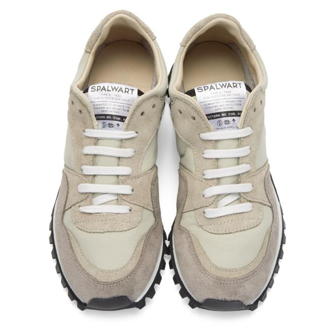 Spalwart Suede Taupe Marathon Trail Gb Sneakers