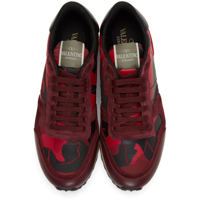 Red Camo Rockrunner Sneakers