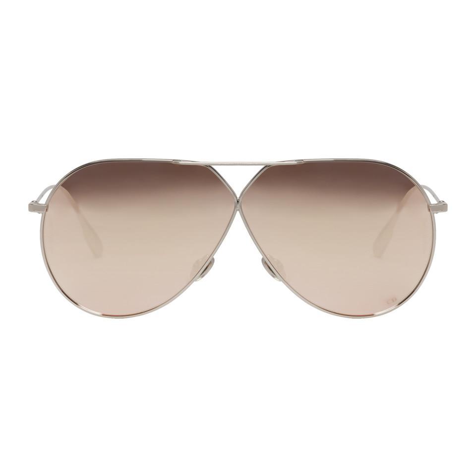 Silver Stellaire 3 Aviator Sunglasses Dior C2fnRHe