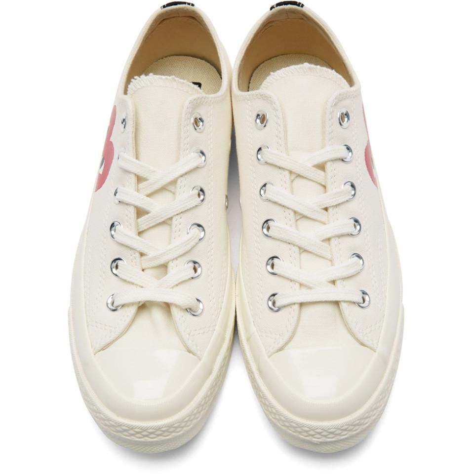 f237225ce59284 Play Comme des Garçons Off-white Converse Edition Chuck Taylor All ...