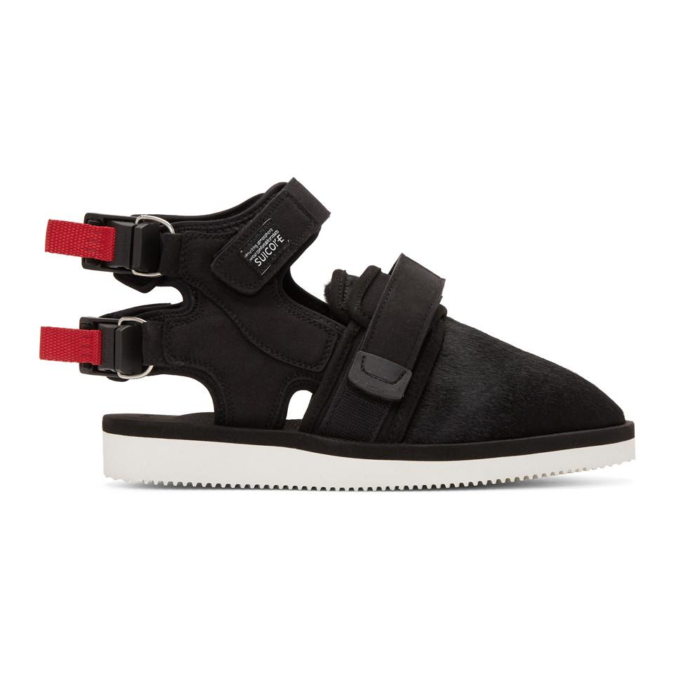 ae9a6a1c1196 John Elliott Black Suicoke Edition Closed Toe Sandals in Black for ...