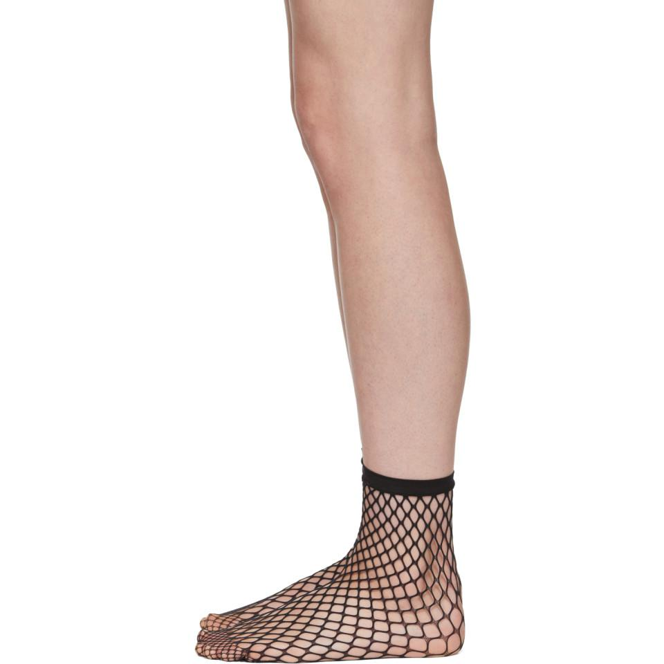 Clearance Free Shipping Black Fishnet Short Socks Wolford Sale Free Shipping Free Shipping Discount P2PYFZ