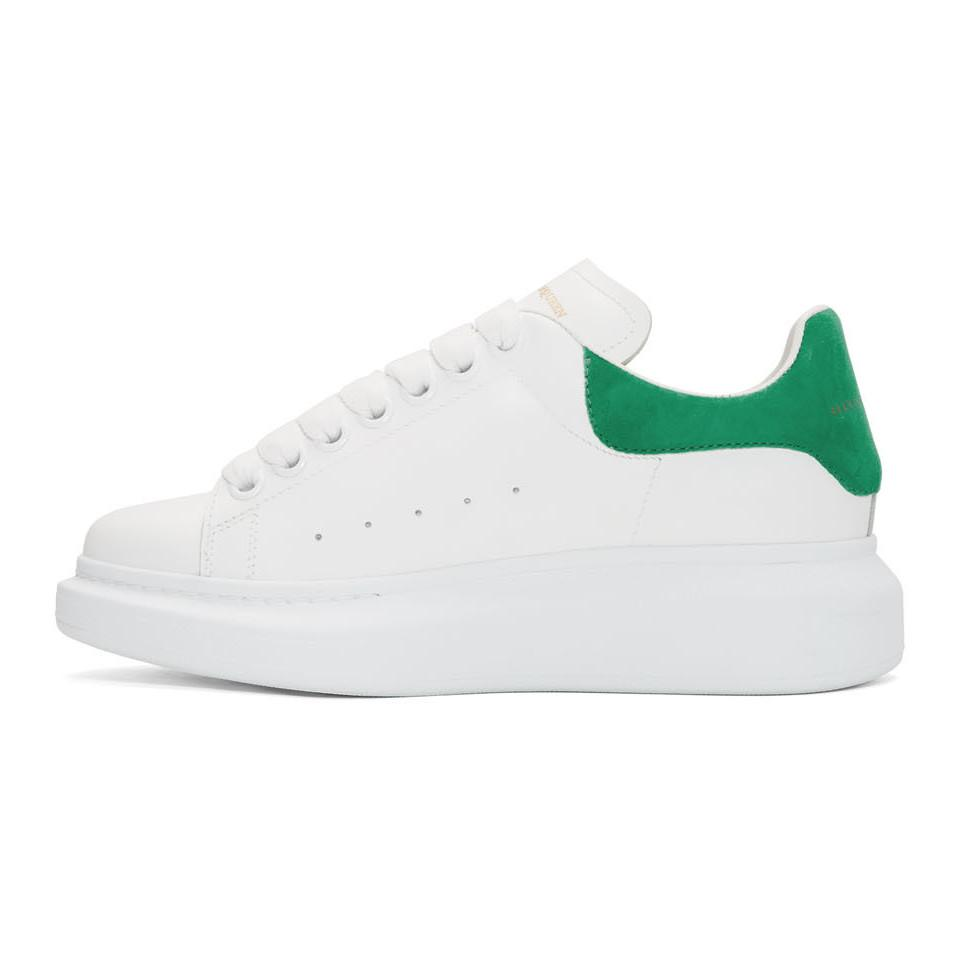 Alexander McQueen Leather White And