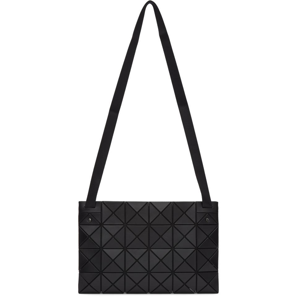 841685a22a1c Lyst - Bao Bao Issey Miyake Black Lucent Messenger Bag in Black for Men
