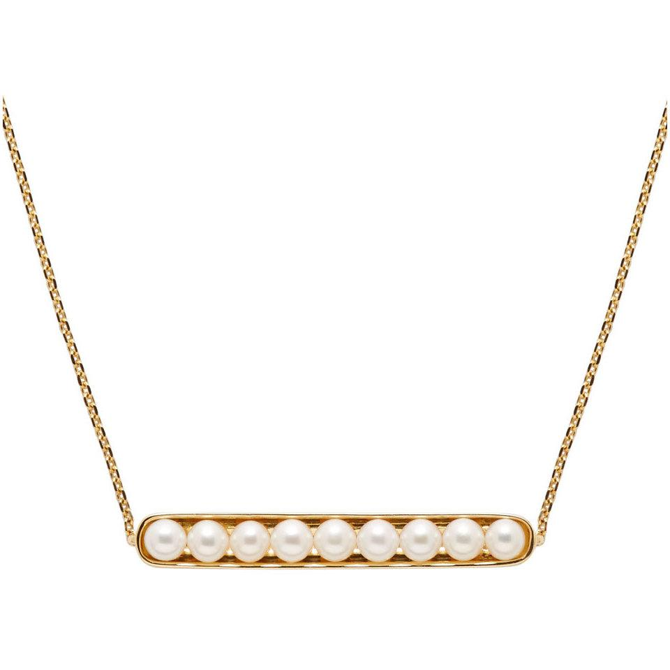 Melanie Georgacopoulos Gold Essence Line Pendant in Yellow