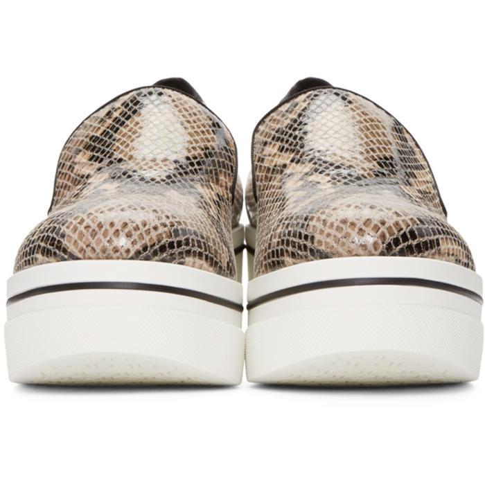 Stella McCartney Synthetic 'binx' Slippers in Beige (Brown)