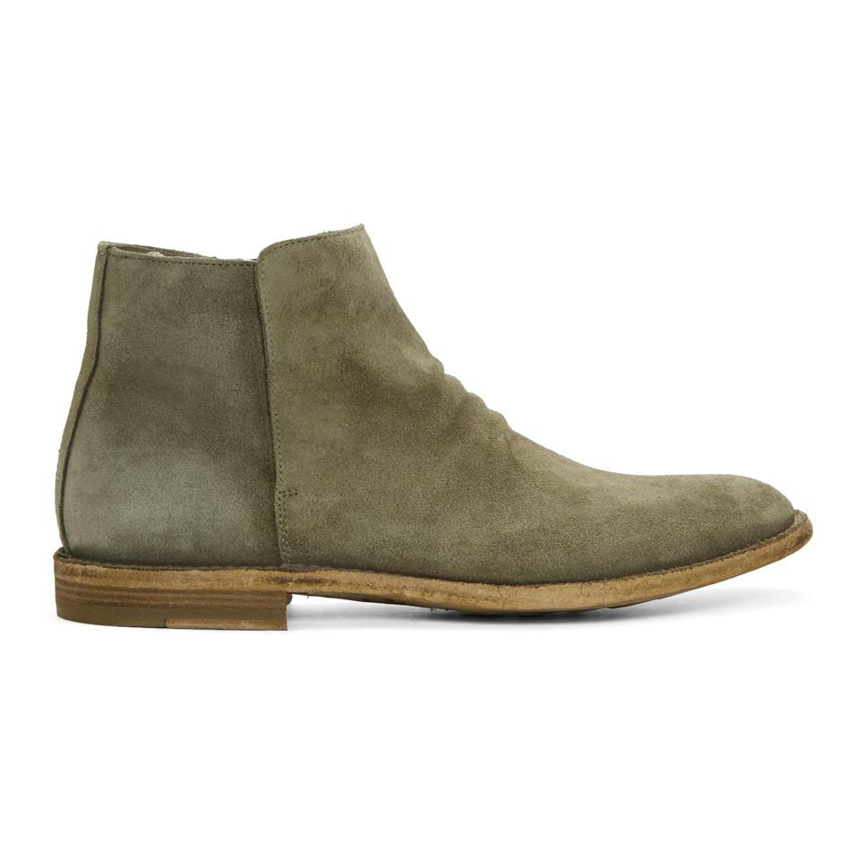 Taupe Suede Standard 19 Boots Officine Creative Latest Discount Affordable Cheap Price Fashion Style Sale Online Buy Cheap Order Sale Authentic QwDf9aZWo