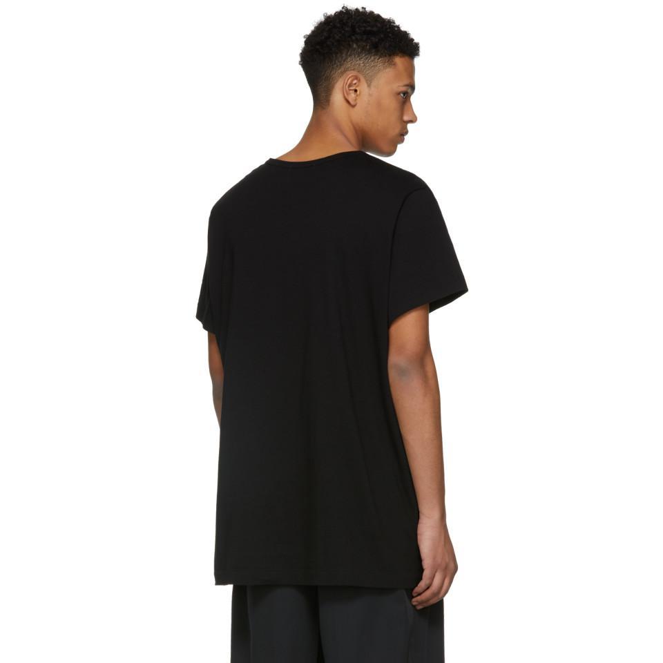 Black Leaf T-Shirt Yohji Yamamoto Cheap Pay With Visa 9wcKCUM