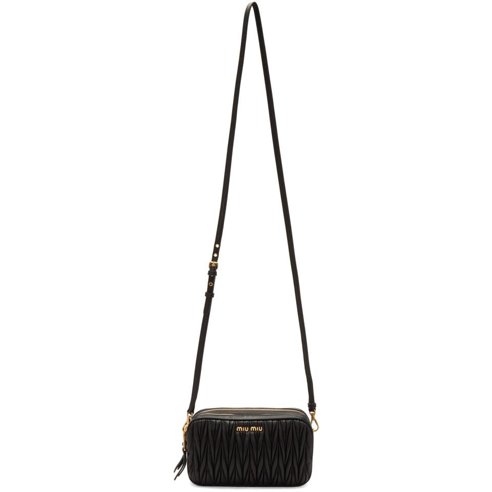 16747452872 Gallery. Previously sold at  SSENSE · Women s Miu Miu Matelasse Women s Miu  Miu Shoulder Bag Women s Triple Zip ...