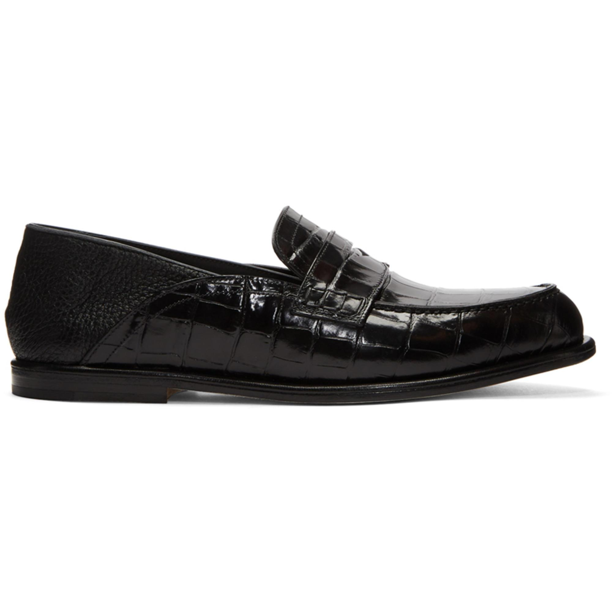 LoeweCroc Convertible Loafers z7euNqOv