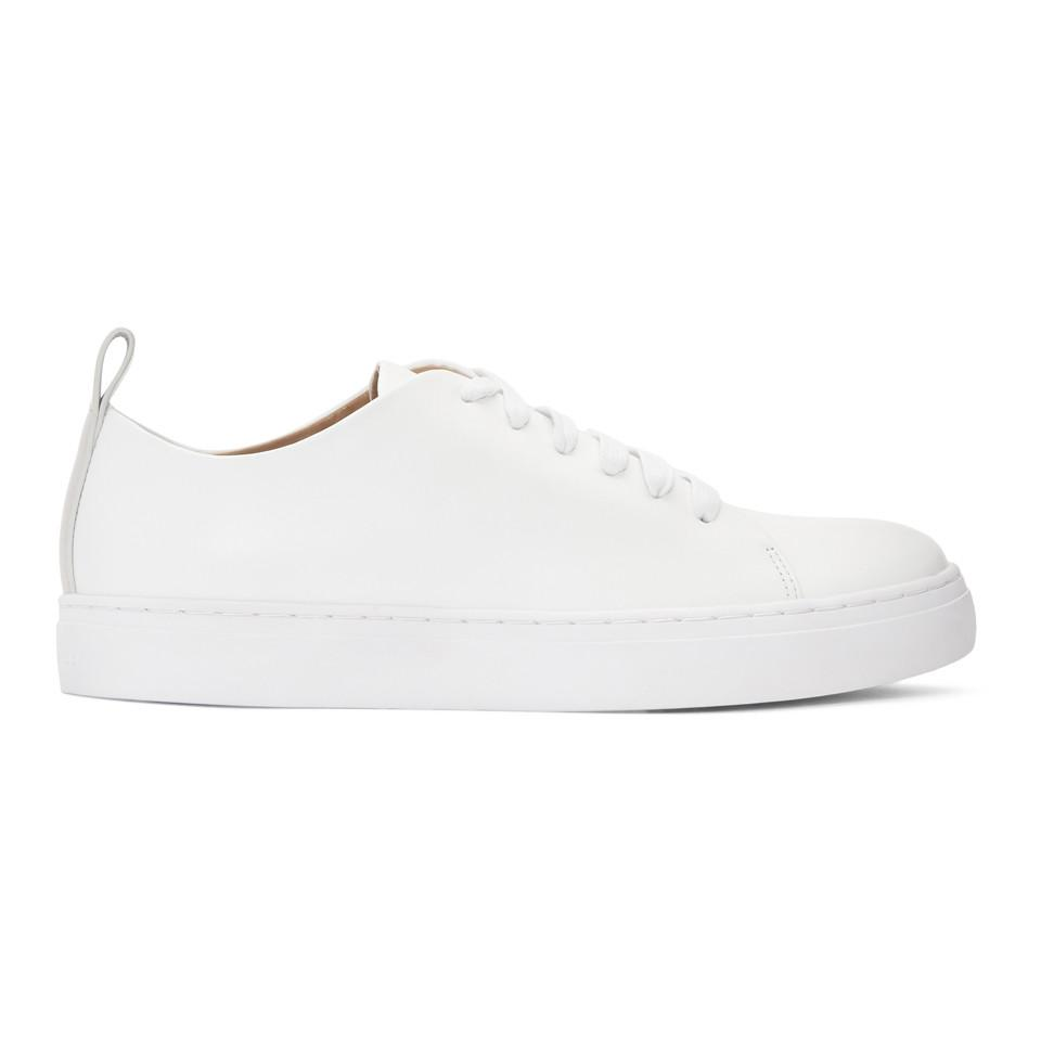 Eytys White Leather Brukare Sneakers wyKGa0d