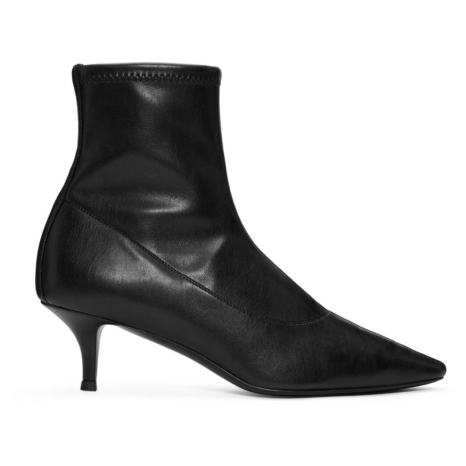 Giuseppe Zanotti Black Stretch Ankle Boots official site sale online SNH9du8egu
