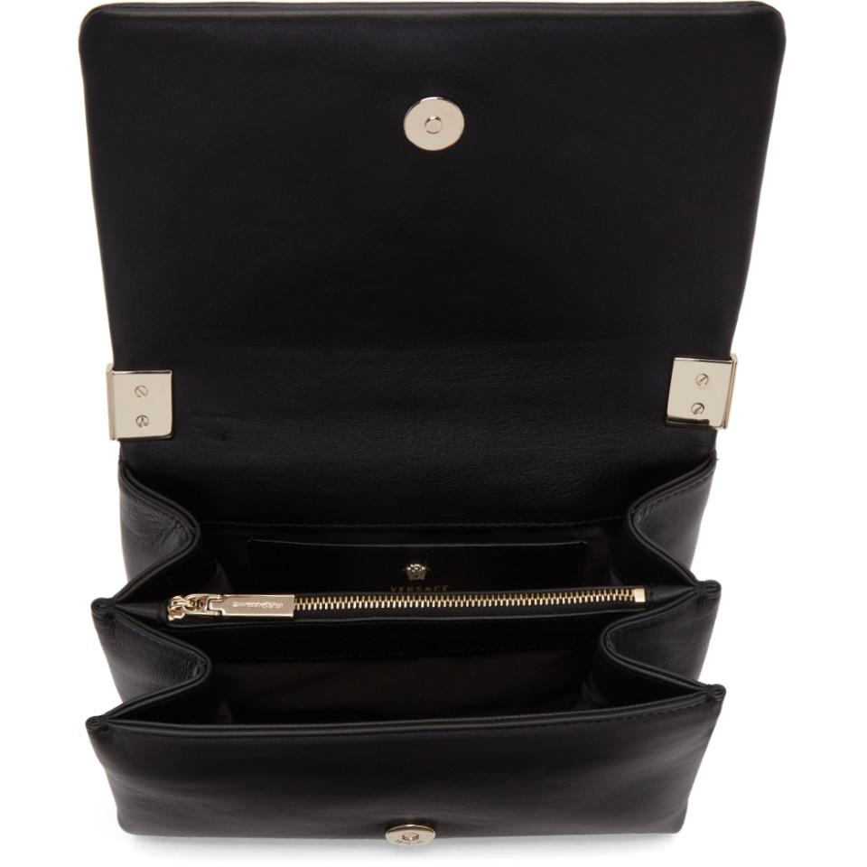 31d64f18d70b ... official photos f00b7 95465 Versace Black Small Palazzo Sultan Bag in  Black - Lyst ...