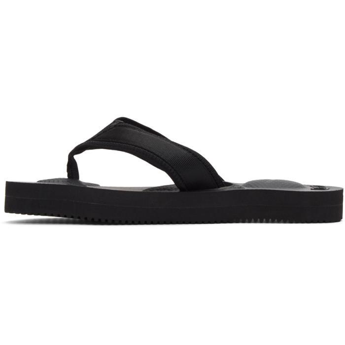 606531f406d4 Lyst - Suicoke Black Tono V2 Flip Flop Sandals in Black for Men