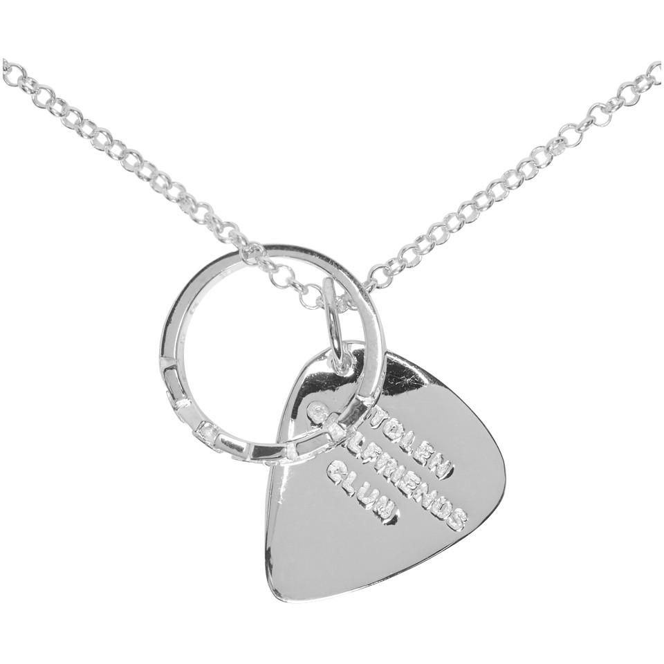 Stolen Girlfriends Club Silver Baby Dont Go Pendant Necklace in Metallic for Men
