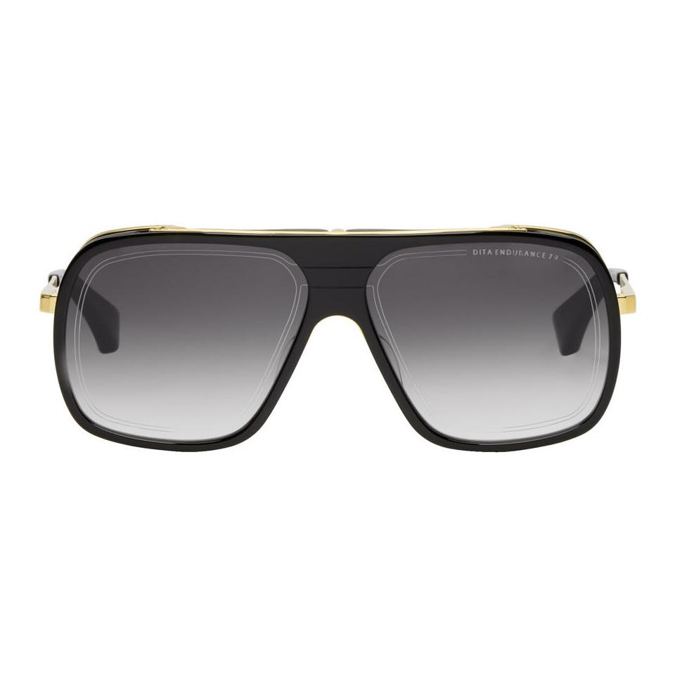 3dca09eb33d1 DITA Black And Gold Endurance 79 Sunglasses in Black for Men - Lyst