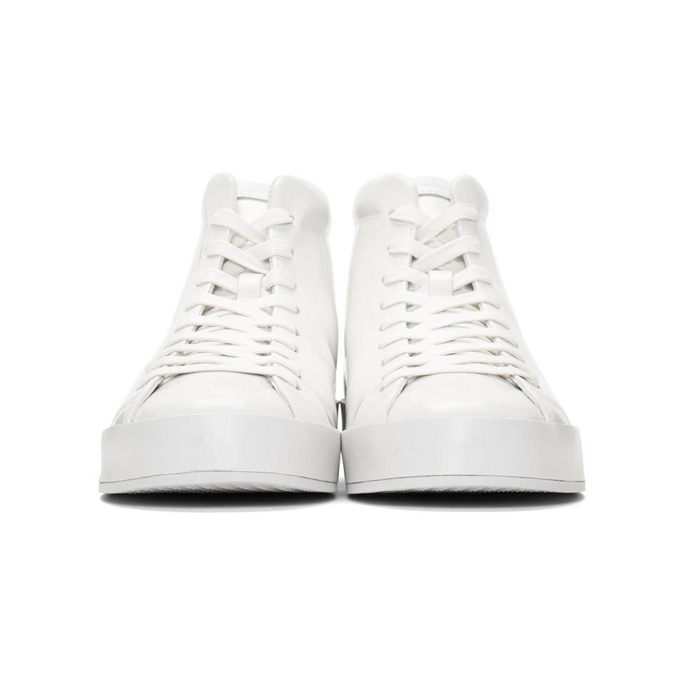 White Patent RB1 High-Top Sneakers Rag & Bone SfjHI