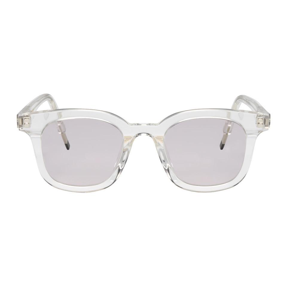 52266b41af76 Lyst - Gentle Monster Transparent Dal Lake Sunglasses for Men
