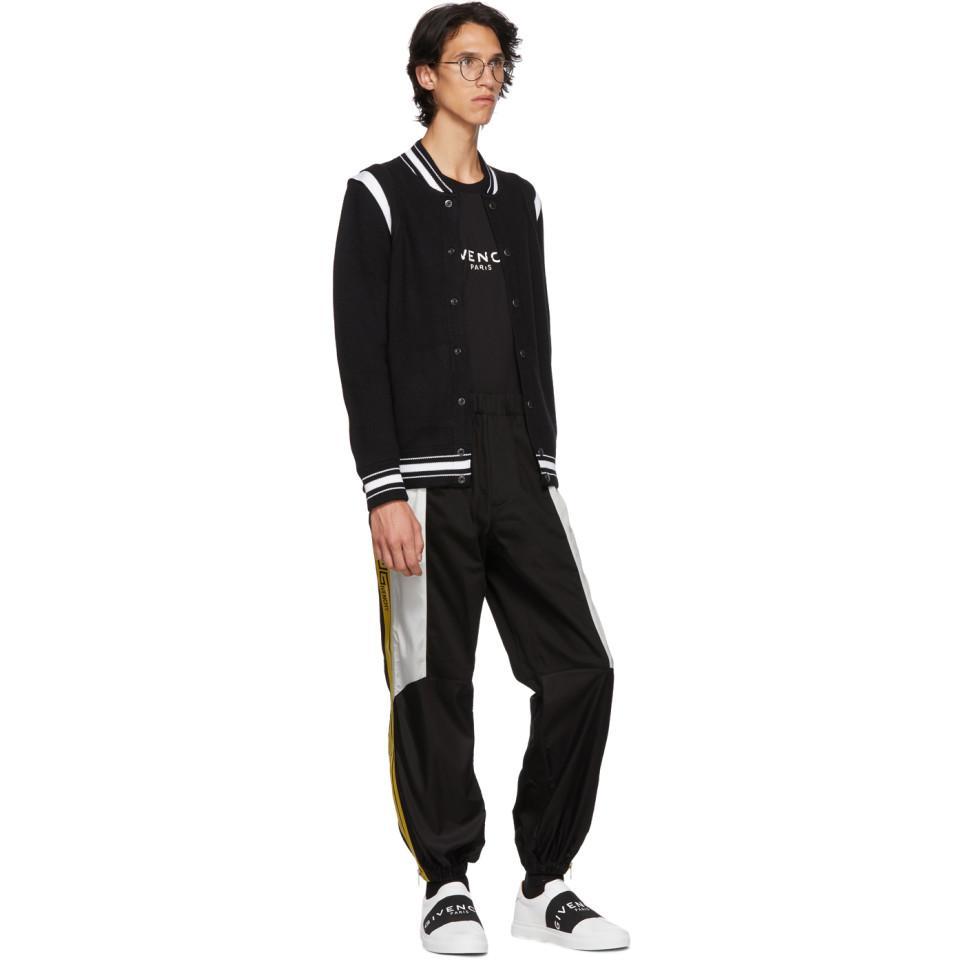 Givenchy Cotton Black Combat Trousers for Men