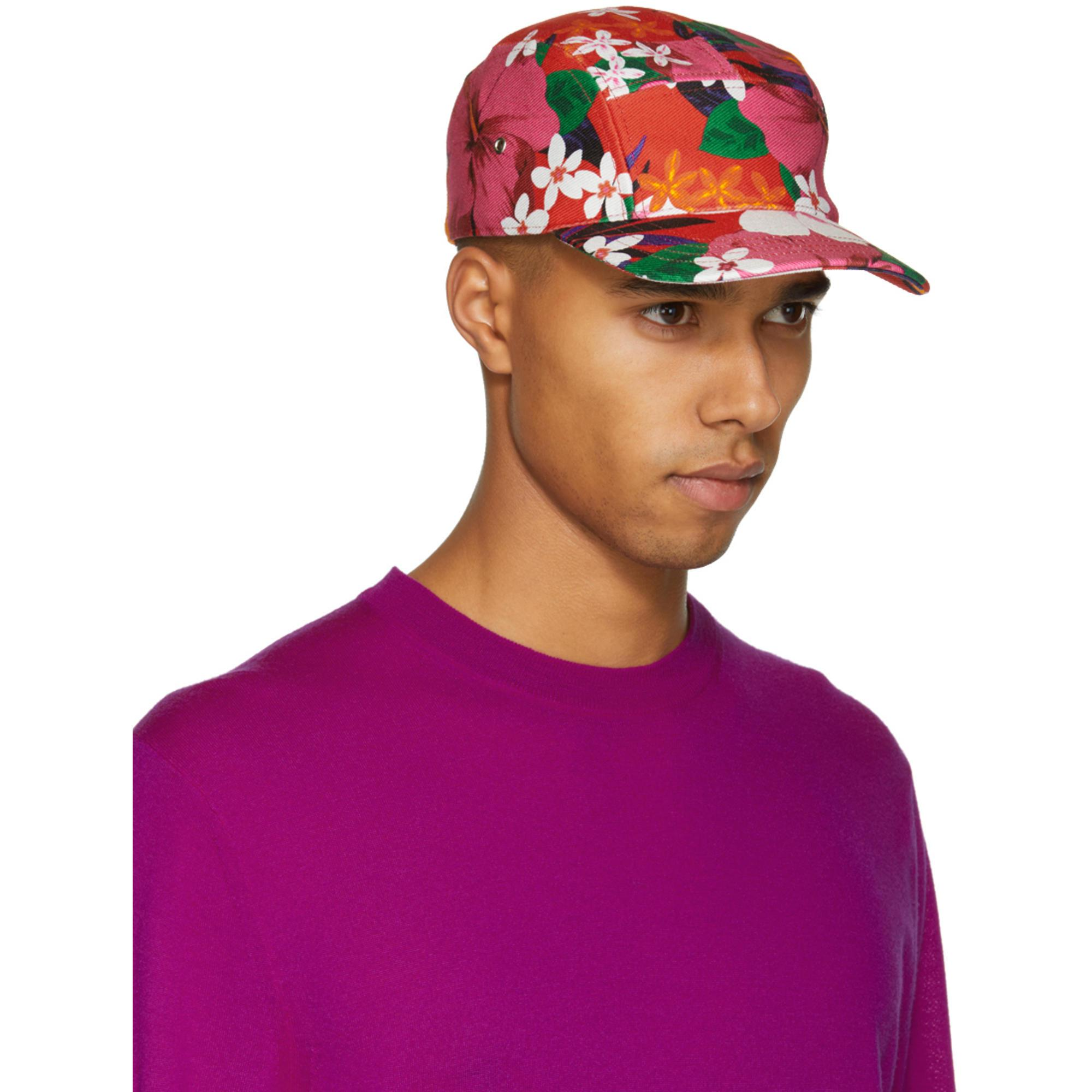 Floral Chapeau Rouge À Cinq Panneaux Ami Edt2AbLvlR