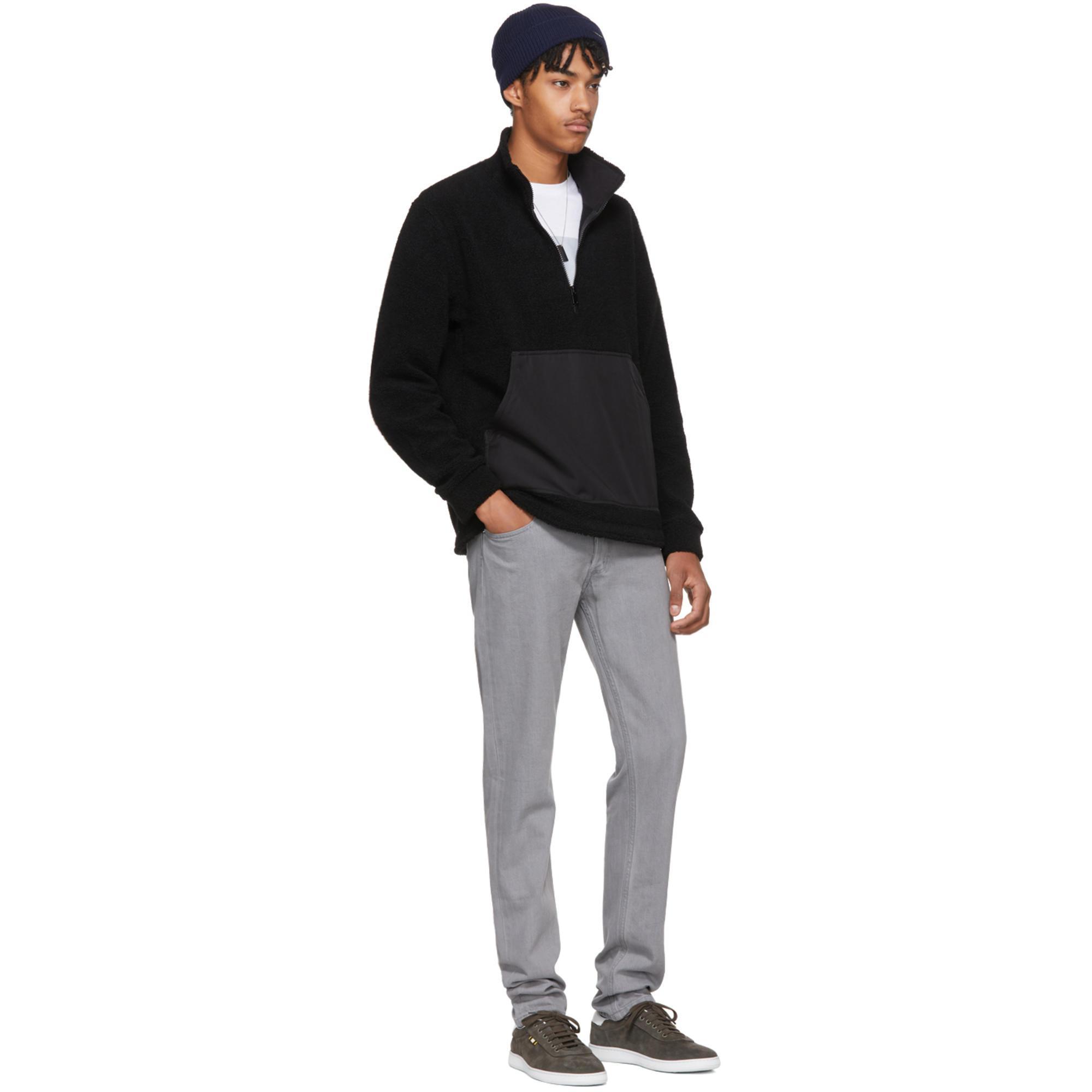 A.P.C. Wool Black Summit Jacket for Men