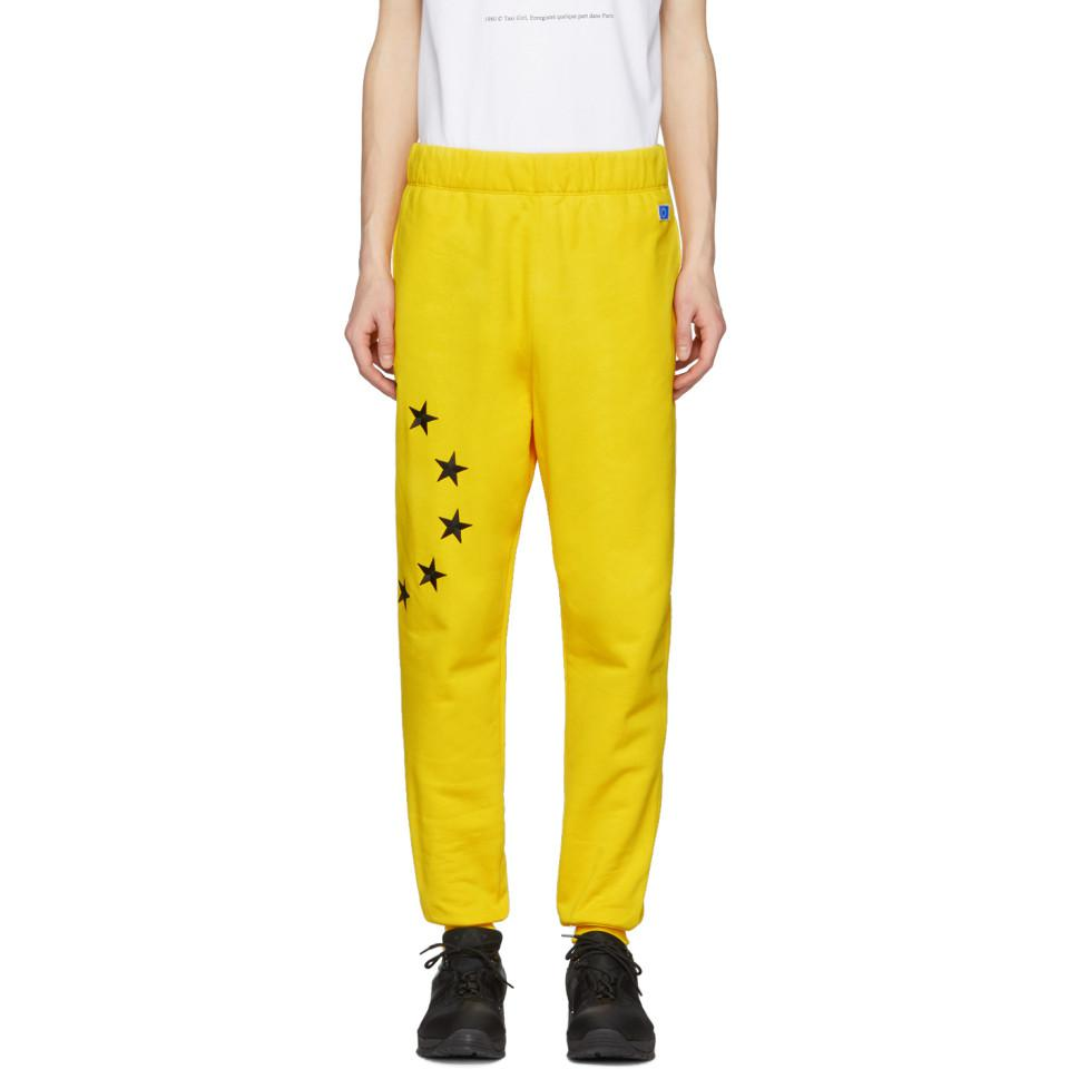 Yellow Etoile Lounge Pants Études Studio Fast Delivery Online Free Shipping The Cheapest Buy Cheap Classic 29pjr