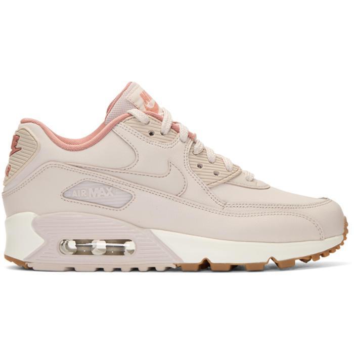 Pink Air Max 90 Lea Sneakers