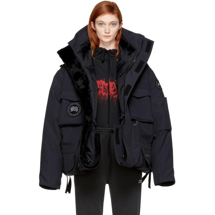 Lyst Vetements Canada Goose Edition Down Parka Jacket In