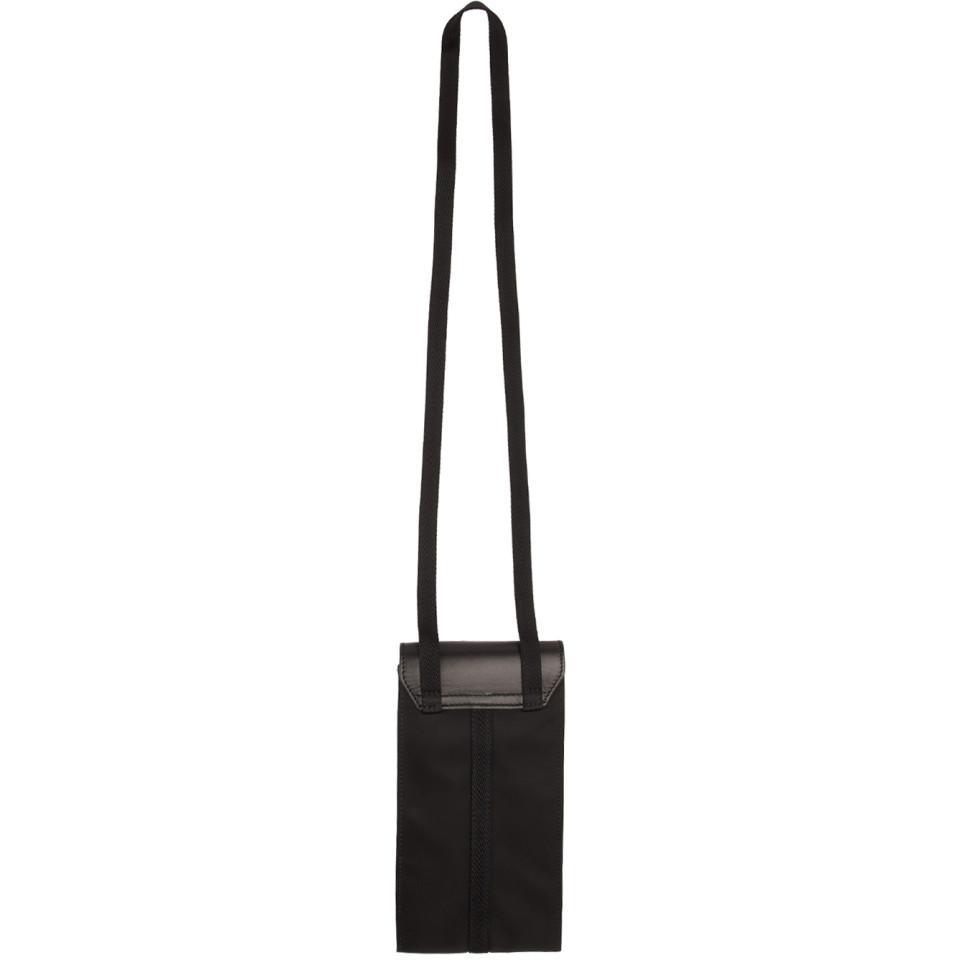 Sac noir Phone Buckle 1017 ALYX 9SM en coloris Noir