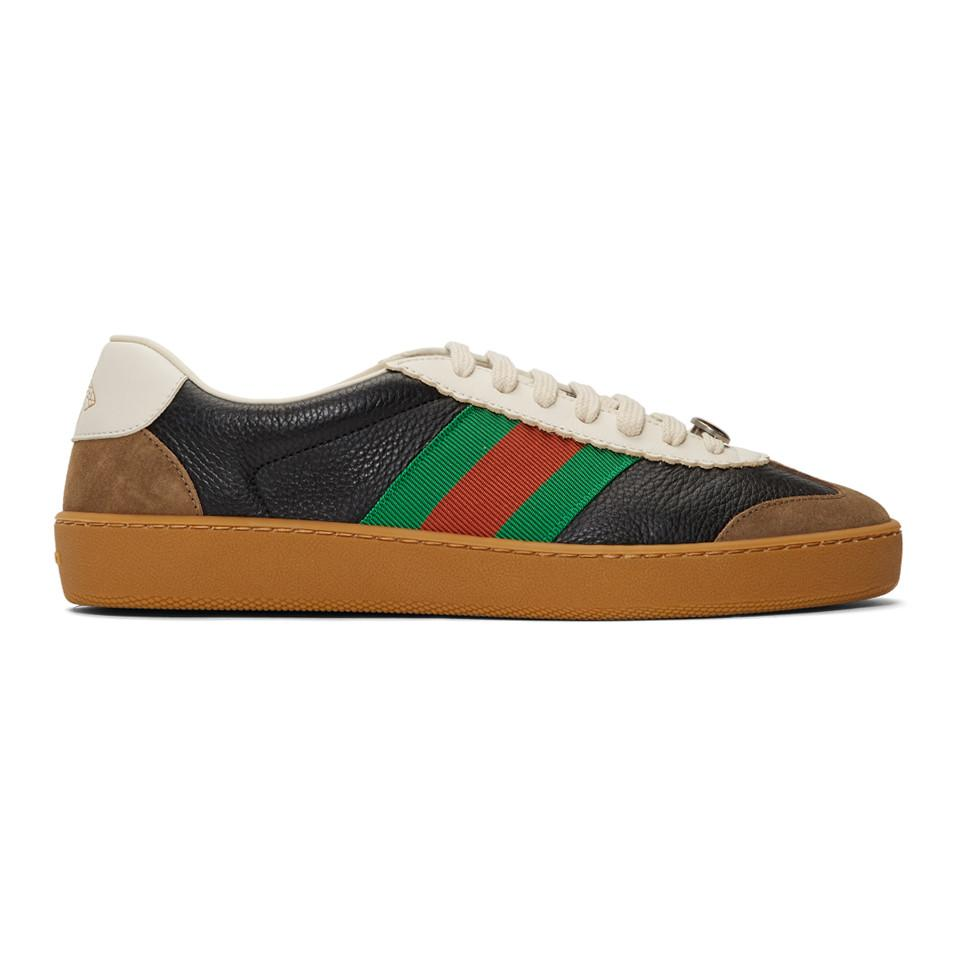 best website 5b576 4e33d Lyst - Gucci Navy And Taupe G74 Sneakers for Men - Save 29%
