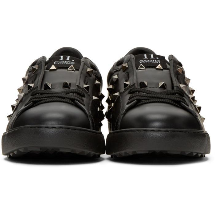 rockstud Untitled' Noir Sneakers