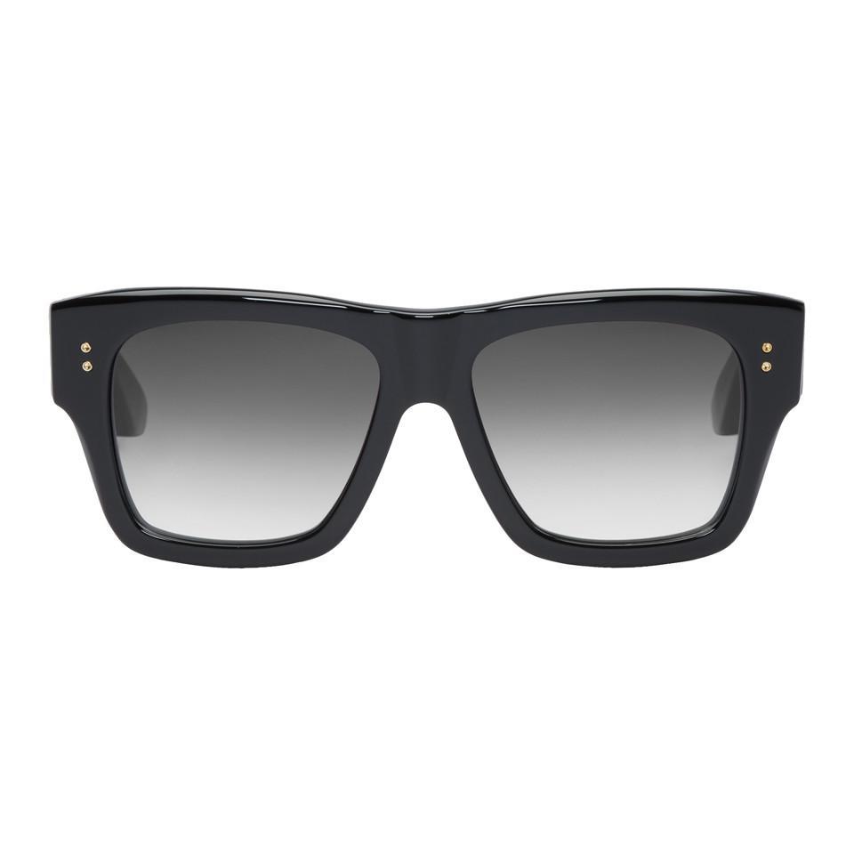 35f42b4d244f DITA Black Creator Sunglasses in Black for Men - Lyst
