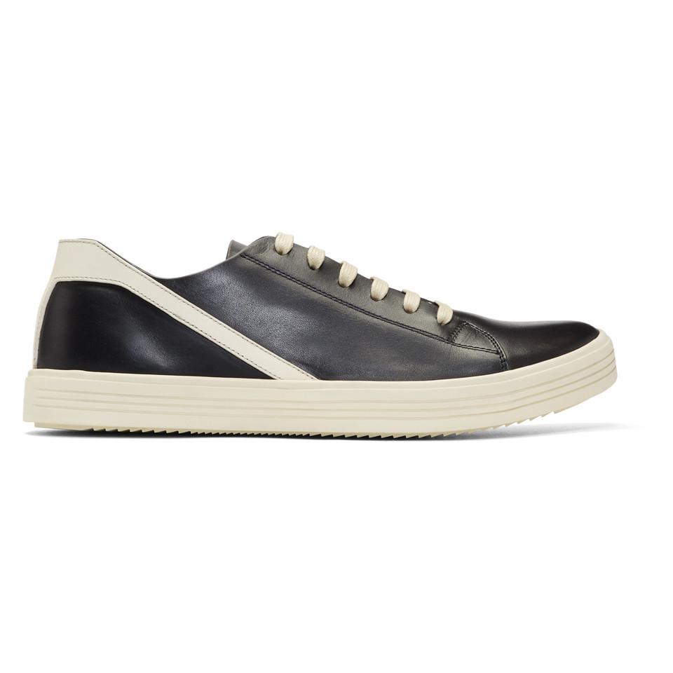 Rick Owens White & Off-White Geothrasher Low Sneakers ntFIXlD
