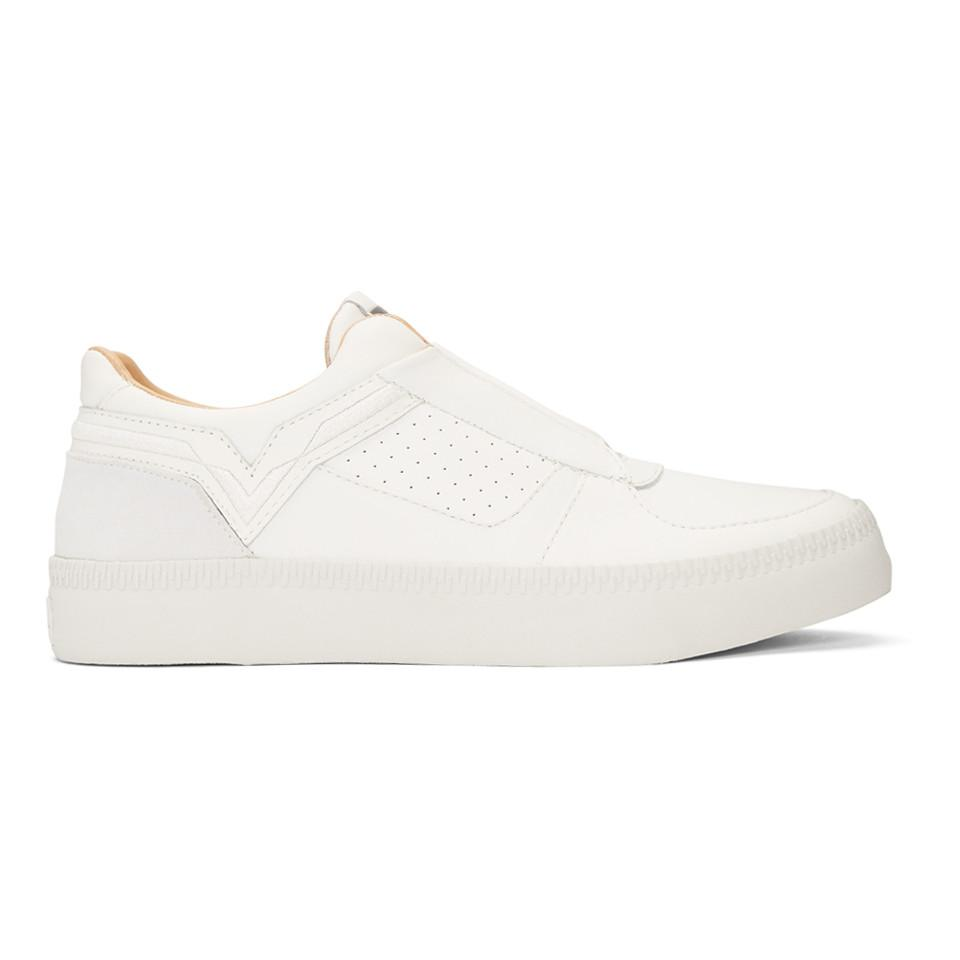 Vans White S-Spaark Slip-On Sneakers G2IPVV