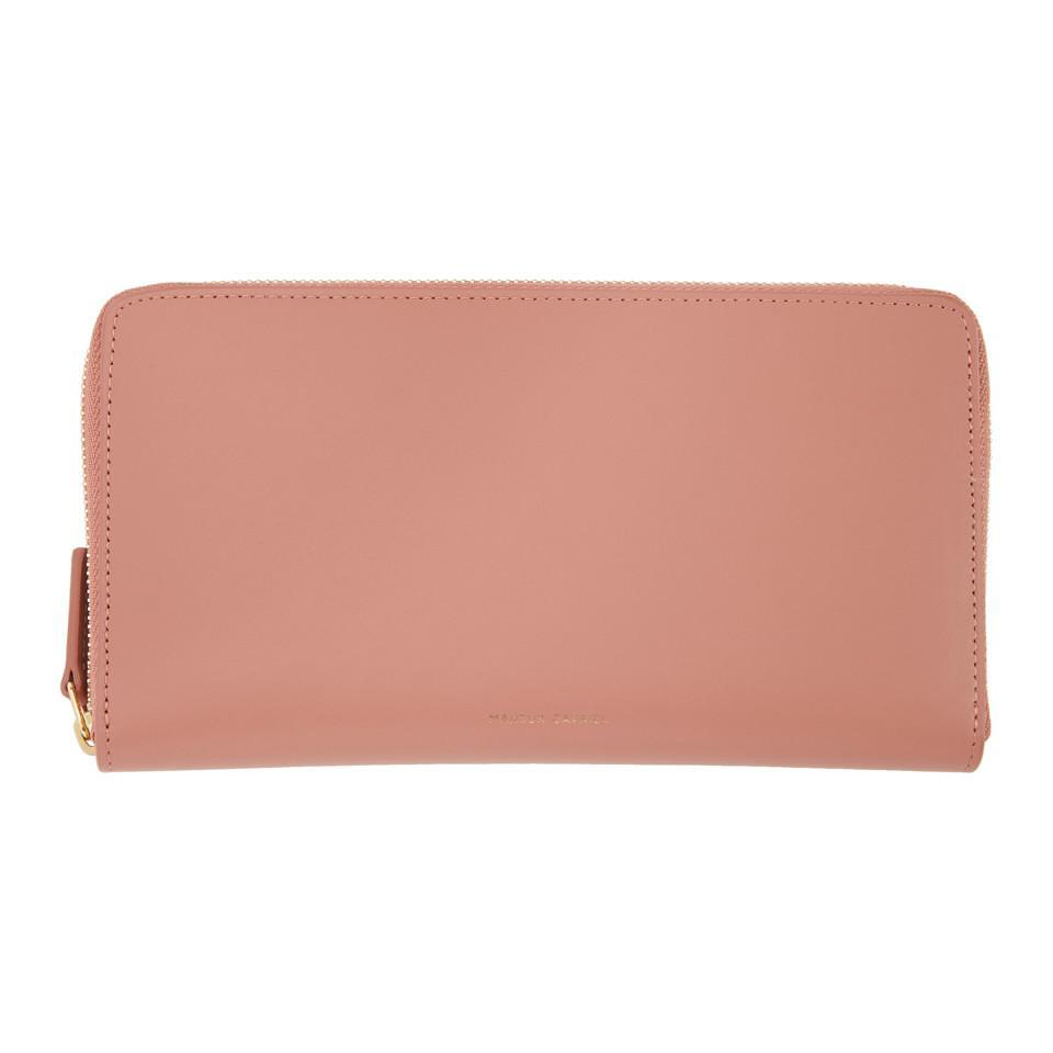 continental purse - Red Mansur Gavriel nEFdOVww