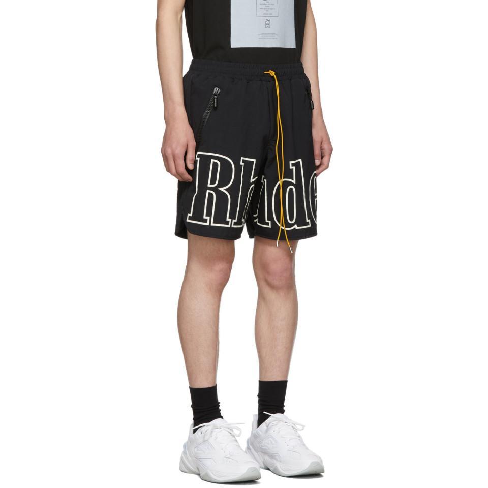 Sweatwater Men Casual Classic Fit Waist Drawstring Print Beach Shorts