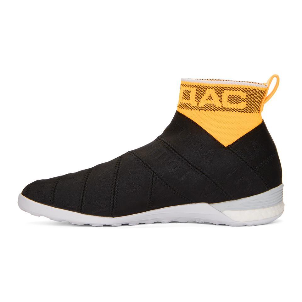Gosha Rubchinskiy Black X Adidas Side Stripe Sock sneakers for men