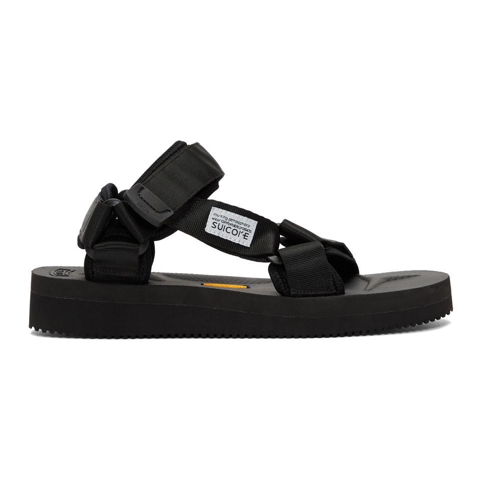 885d06bd1030 Suicoke Black Depa-v Sandals in Black for Men - Lyst