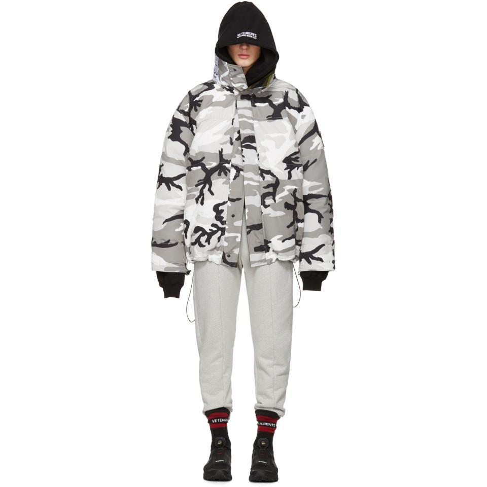 canada goose Snow Pants Grey Camo