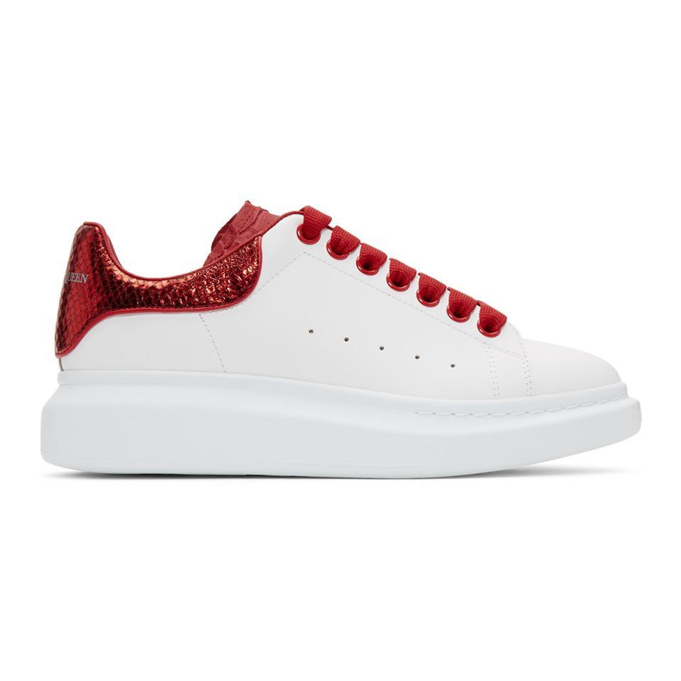 mcqueen red sneakers on sale 5b9cf 02d74